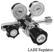 Brass Two-Stage Regulator Model LABE