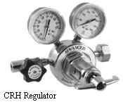 Corrosive, High-Flow Regulator Model CRH